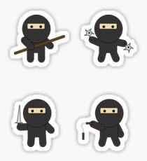 Pegatina ninja