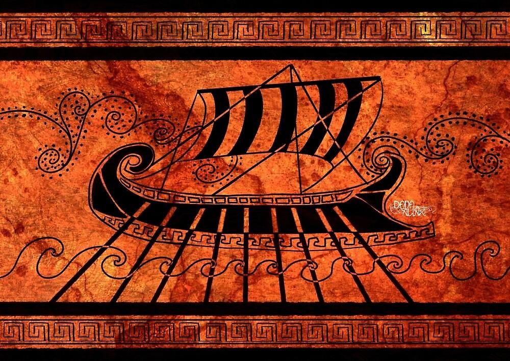 ancient Greece longship by Kaizoku-hime