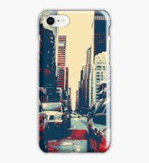 taxi cab  art iPhone Case/Skin