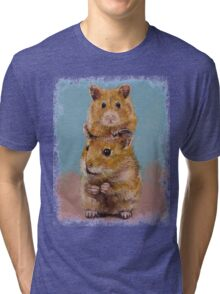Hamsters Tri-blend T-Shirt