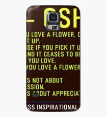 Timeless Inspirational Quotes - OSHO Hülle & Klebefolie für Samsung Galaxy