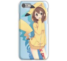 k-on pika cosplay iPhone Case/Skin