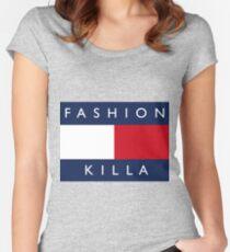 FASHION KILLA Women's Fitted Scoop T-Shirt