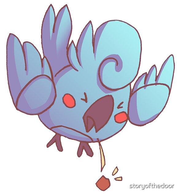 Rude Cockatiel Bird 3 - PLEH! by storyofthedoor