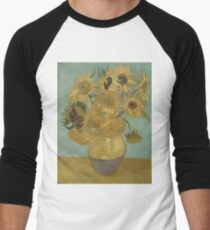 Vincent Van Gogh  - Sunflowers , Impressionism , Fine Art T-Shirt