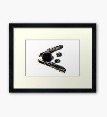 Clarinet Framed Print