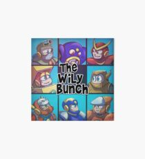 0032 - The Wily Bunch Art Board