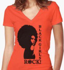 Black Girls Rock! Women's Fitted V-Neck T-Shirt