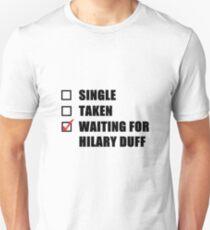 Waiting For Hilary Duff T-Shirt