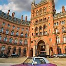 St. Pancras Hotel London by Adrian Evans