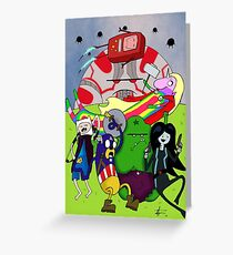 Avenger Time Greeting Card