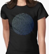 Pale Blue Dot - Carl Sagan Women's Fitted T-Shirt