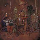 H.P.Lovecraft, Director by MikeDubischArt