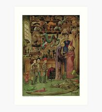 The Magical Menagerie Fantastic Pet Shop Art Print