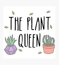 The Plant Queen Photographic Print