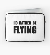 Funda para portátil En lugar de estar volando