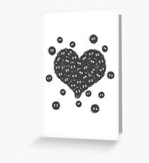 Heart of Soot Sprites Greeting Card