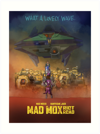 Mad Mox: Riot Road by kimhobby