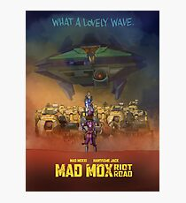 Mad Mox: Riot Road Photographic Print