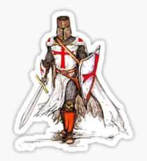 Templar Knight Sticker