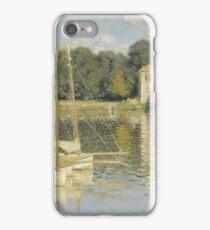 Claude Monet - Le Pont d'Argenteuil, Monet iPhone Case/Skin