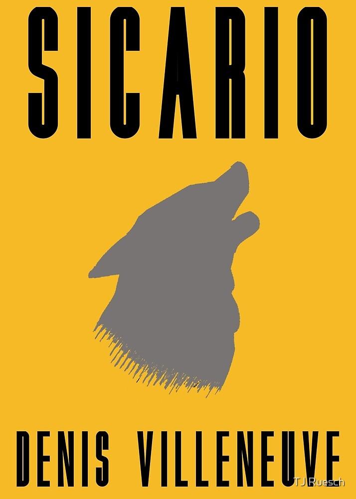 Sicario Minimalist Design by TJ Ruesch