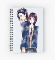 Anime Couple Suki-tte ii na yo Spiral Notebook