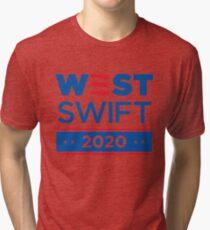 West Swift 2020 Kanye Tri-blend T-Shirt