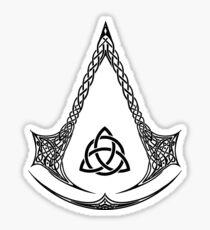 Celtic Assassin Sticker