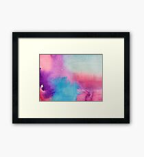 Watercolour abstract 1 Framed Print