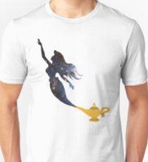 Mermaid - Genie Lamp - Galaxy T-Shirt