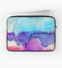 Watercolour abstract 2 Laptop Sleeve