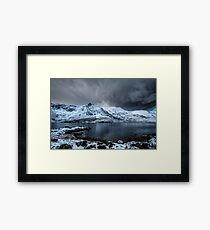 LLyn Idwal Calm before the Storm  Framed Print