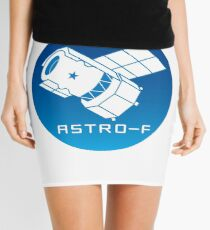 ASTRO-F Mission Logo Mini Skirt