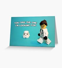 Lady Stormtrooper Valentine Greeting Card
