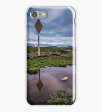 Navigational marker on the River Clwyd  iPhone Case/Skin