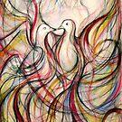 Two Doves (Messengers of Love) by Leni Kae
