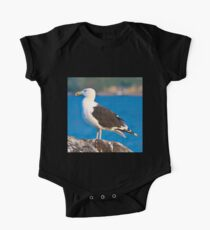 Up Close Gull One Piece - Short Sleeve