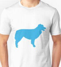 Australian Shepherd Silhouette Unisex T-Shirt