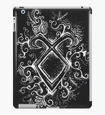 Angelic Rune Mandala- Inverted iPad Case/Skin