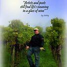 Swiss Vineyard by Charmiene Maxwell-Batten
