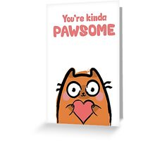 Cute Love Cat Greeting Card
