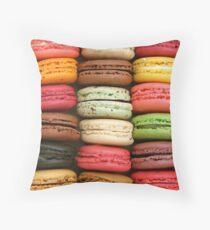 Macaron Passion Throw Pillow