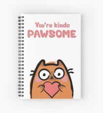 Cute Love Cat Spiral Notebook
