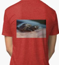 Baby Snapping Turtle #2 Tri-blend T-Shirt