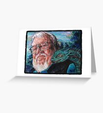 George R. R. Martin Father Of Dragons Greeting Card