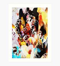 Foot of the Waterfall - Jenny Meehan, jamartlondon Art Print