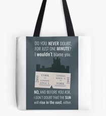 Blue - Downton Abbey  Tote Bag