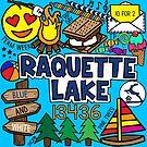 Raquette See von Corey Paige Designs