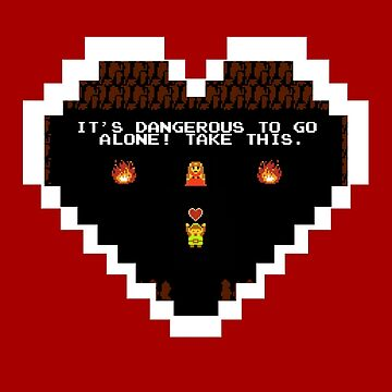 It's Dangerous to go Alone! by Squaba